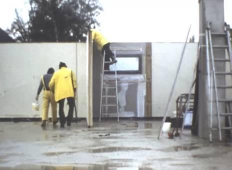 Hausbau von 1978-1980