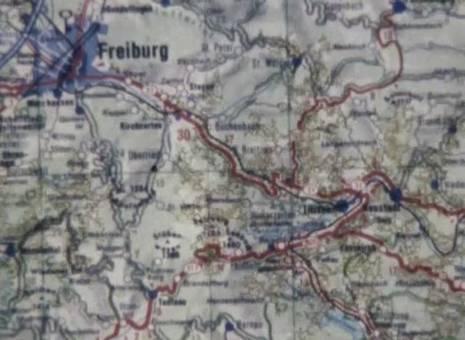 Bahnfahrt im Hochschwarzwald