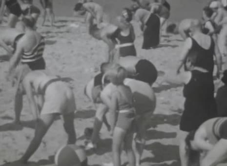 Strandgymnastik
