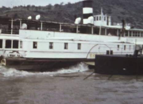 Schifffahrt zum Deutschen Eck