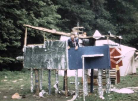 Zeltlager 1977 in Rott