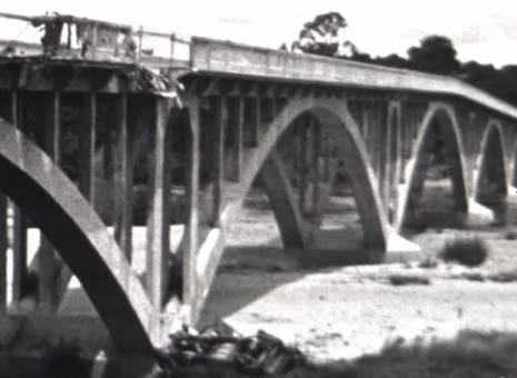 Brücke über die Deûle