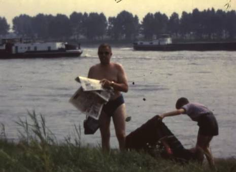 Entspannen am Rhein