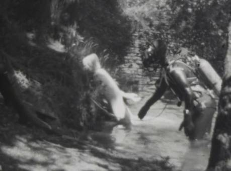 Rettungsübungen zu Wasser