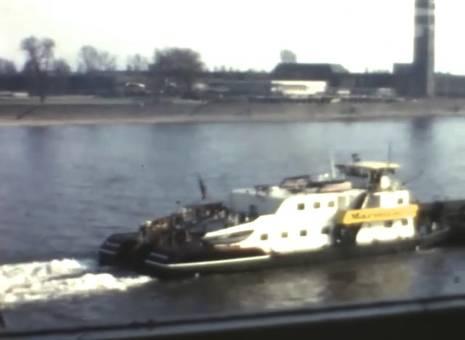 Der Rhein in Köln
