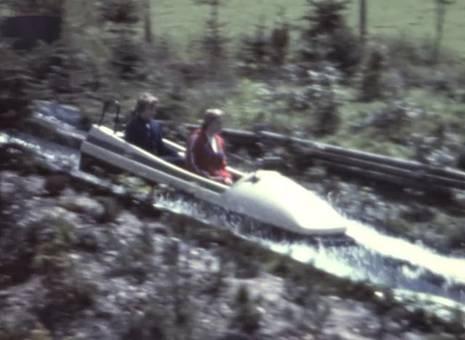 Rodel und Wasserbahn