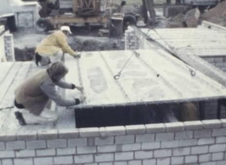 Traumhaus-Bau