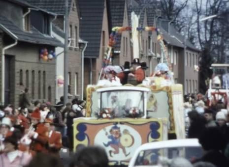 Gymnicher Karnevalumzug 1981