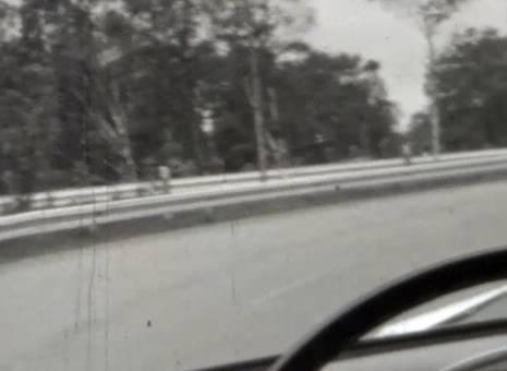 Autofahrt auf der A1