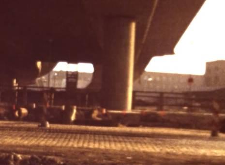 Neubau Kniebrücke