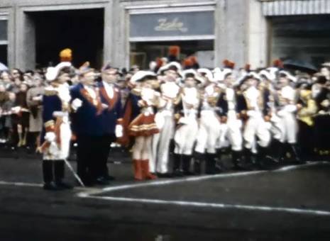 Karnevalszug 1958