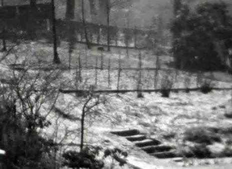Schnee und Schaufenster