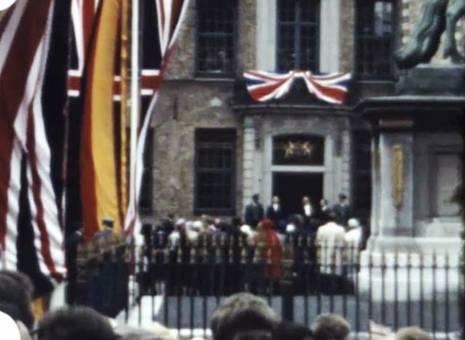 Elizabeth II. in Düsseldorf