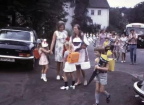 Coras erster Schultag