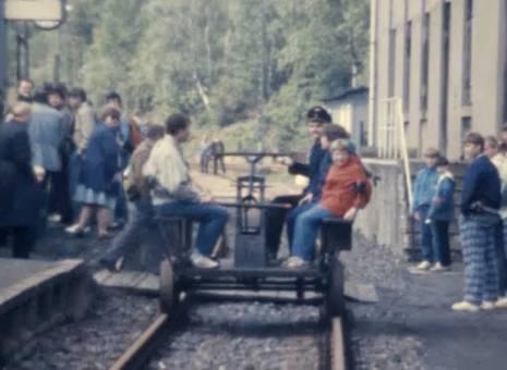 Eisenbahn-Draisine
