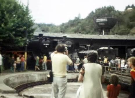 Dampflok-Abschiedsfest