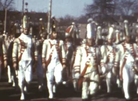 Kölner Rosenmontagszug 1968