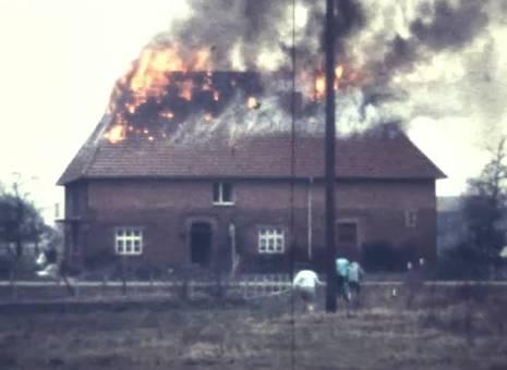 Brand im Dachstuhl