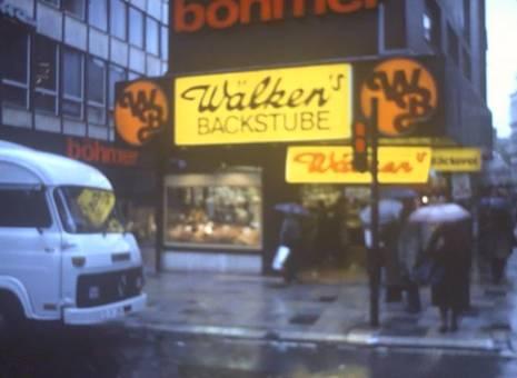 Verregneter Tag in Essen