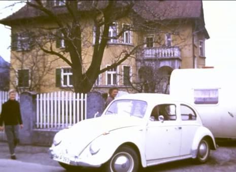 Wohnwagen-Karawane