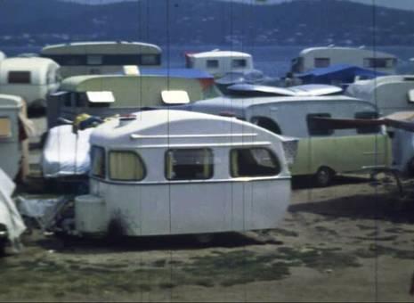 Campen in St.Tropez