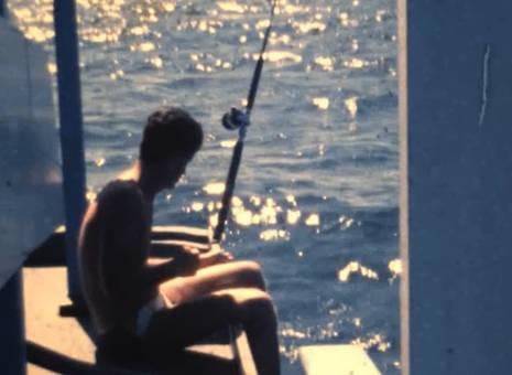 Ein Tag auf dem Boot