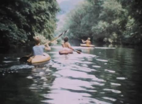 Den Fluss entlang