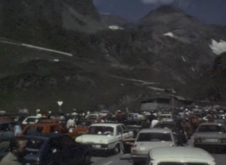 Fahrt in die Berge