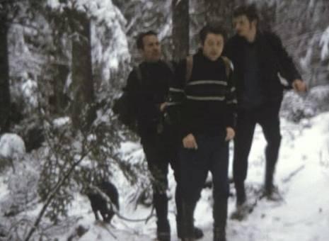 Jagd in den Bergen