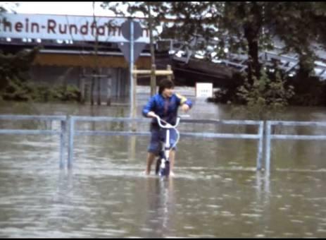 Hochwasser 1983 in Köln