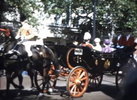London mit der Queen
