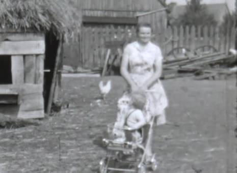 Familienleben auf dem Hof