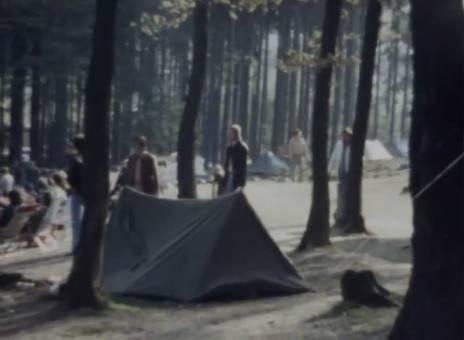 Campingstimmung beim Rennen