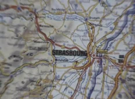 Fahrt nach Strasbourg