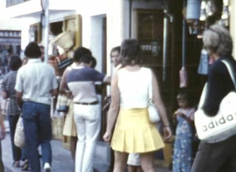 Einkaufsbummel auf Ibiza