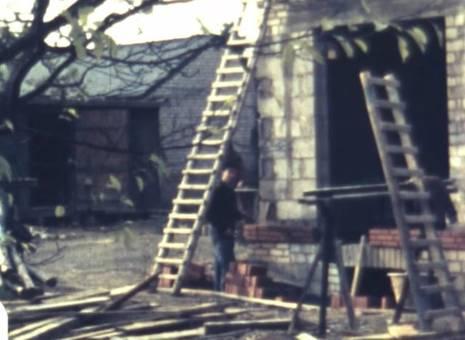 Abriss und Hausbau