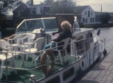 Hausboot in den Niederlanden