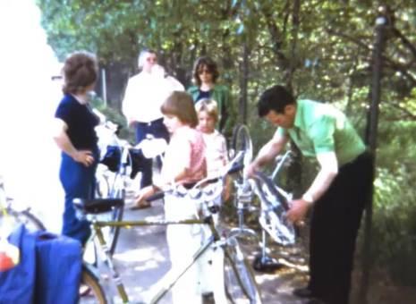 Familien-Fahrradtour