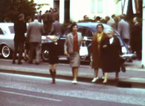 Besuch von J.F. Kennedy