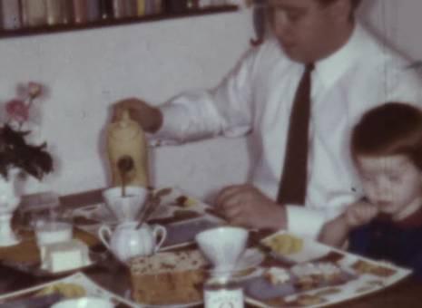Frühstück mit Papa