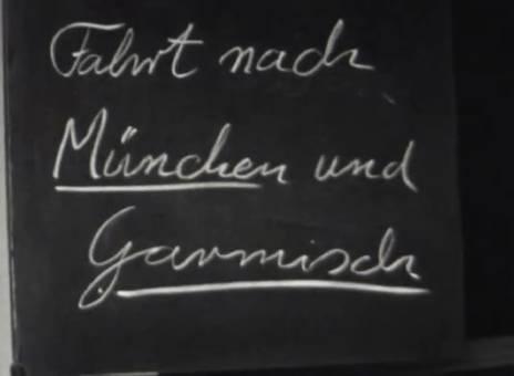 Fahrt nach München