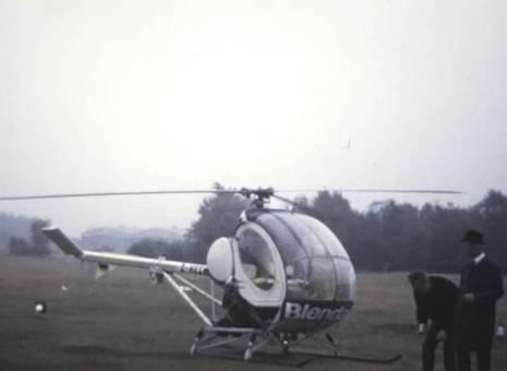 Hubschrauber in Greven