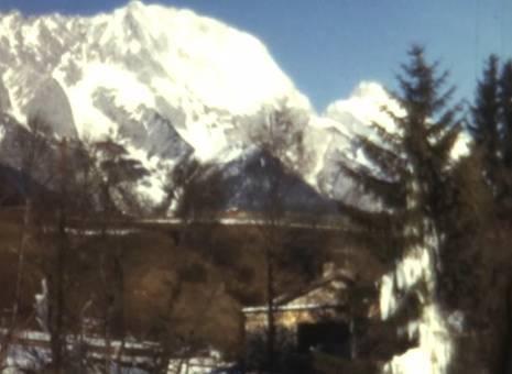 Eislauf in den Bergen