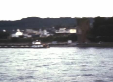 Rheinfahrt in die Nacht hinein