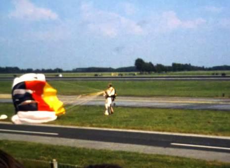 Flugshow mit Balast