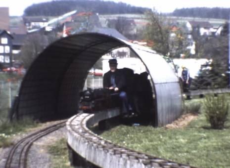 Rasante Kleinbahn