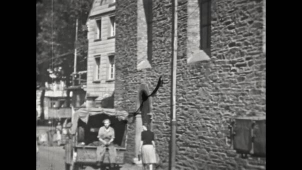 Menschen in Monschau