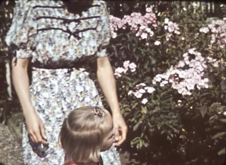 Blumen für die Großeltern