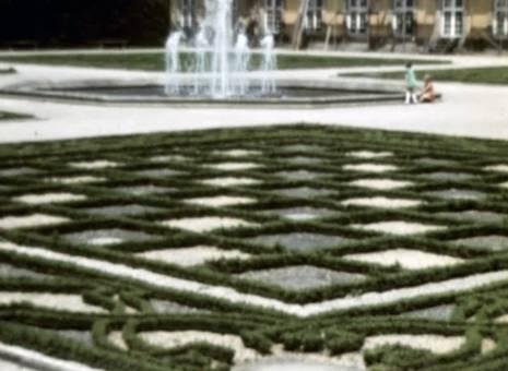 Besuch im großen Garten
