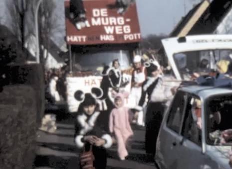Karnevalszug im Veedel